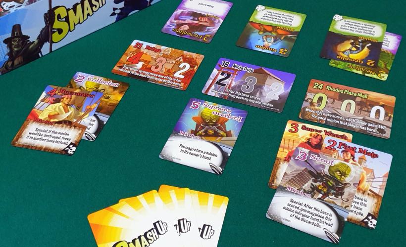 Games for Scoundrels Smash Up