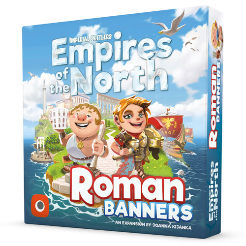 Imperial Settlers Card Game: Empires Of The North: Roman Banners Expansion