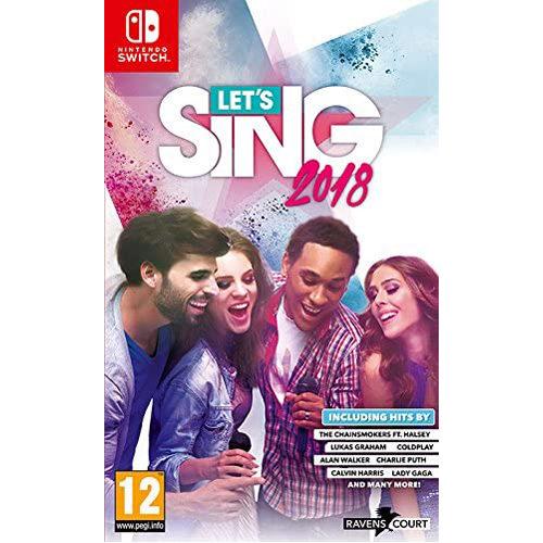 Let's Sing 2018 + 1 Mic - Nintendo Switch