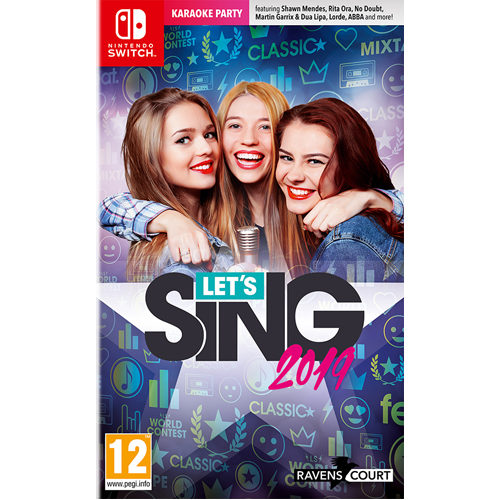 Lets Sing 2019 + 1 Microphone - Nintendo Switch