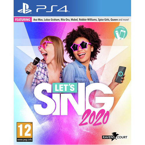 Lets Sing 2020  + 1 Microphone - PS4