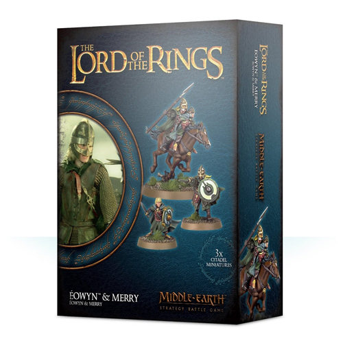 Lord of the Rings: Middle Earth Strategy Battle Game - Eowyn & Merry