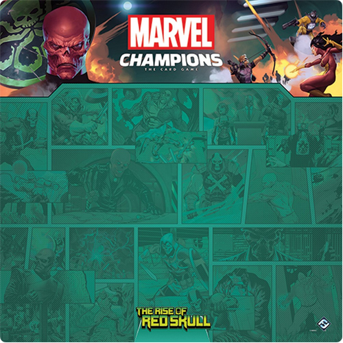 Marvel Champions: 1–4 The Rise of Red Skull Game Mat