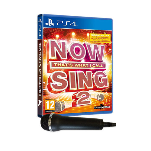NOW That's What I Call Sing 2: 1 Mic Bundle - PS4