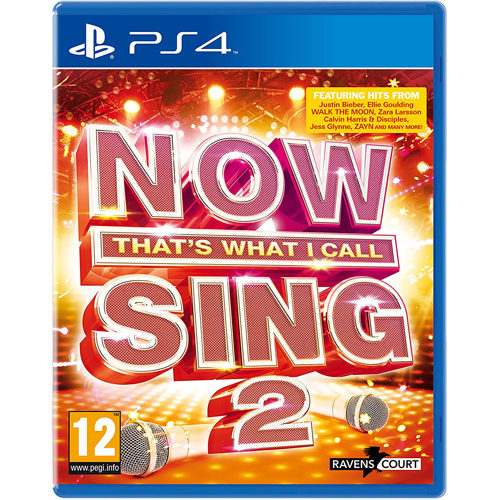 NOW That's What I Call Sing 2: 2 Mic Bundle - PS4