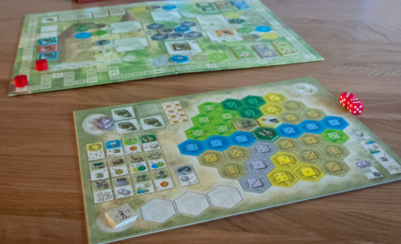 Next Step Games Castles of Burgundy body