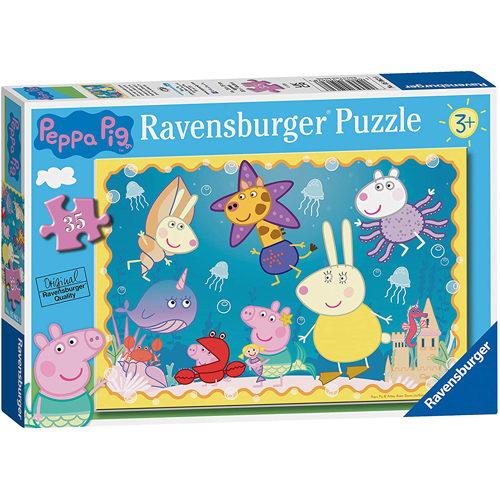 Peppa Pig Underwater Adventure Puzzle (35 Pieces)