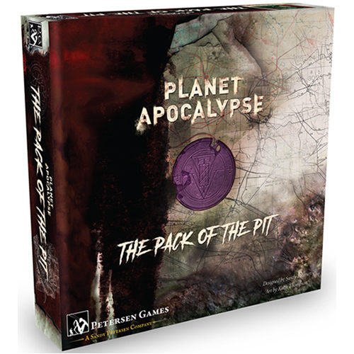 Planet Apocalypse Board Game: Pack Of The Pit Expansion
