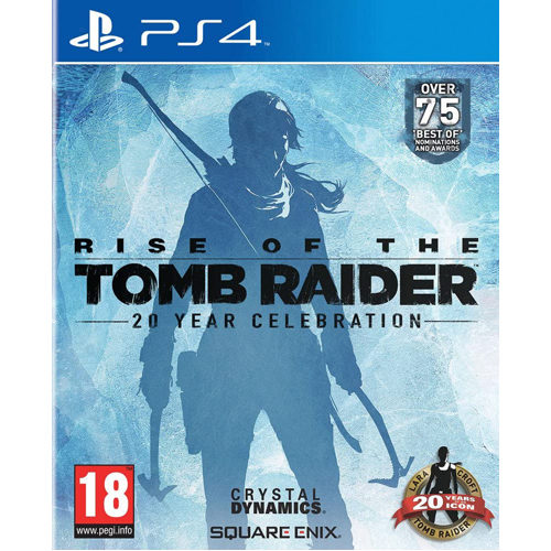 Rise of the Tomb Raider 20 Year Celebration Digibook Edition - PS4