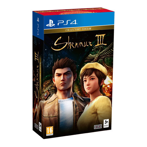 Shenmue III: Collector's Edition - PS4