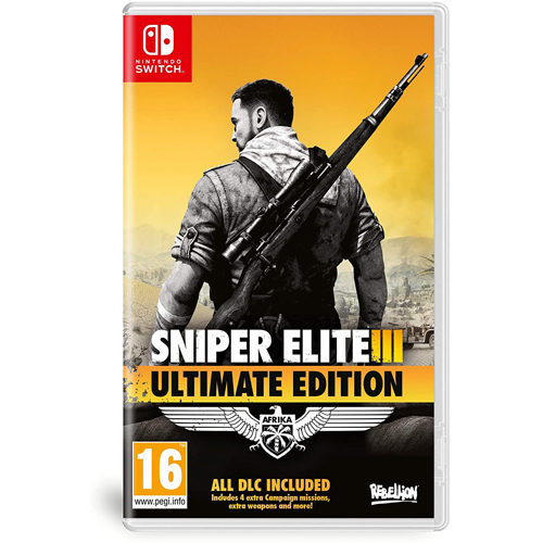 Sniper Elite 3 Ultimate Edt - Nintendo Switch