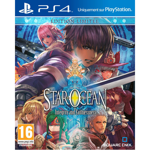 Star Ocean V Limited Steel Book - PS4