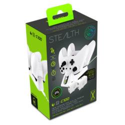 Stealth SX-C100 Xbox One Twin USB Charging Dock (White) - Xbox One