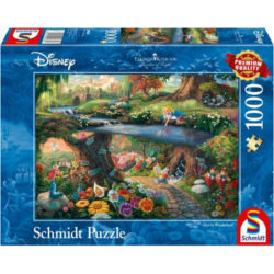 Thomas Kinkade: Disney Alice In Wonderland (1000 pieces)
