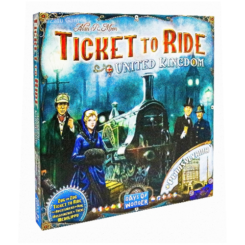 Ticket to Ride UK Expansion Pack