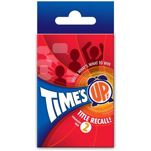 Time's Up: Title Recall Party Game: Expansion 2