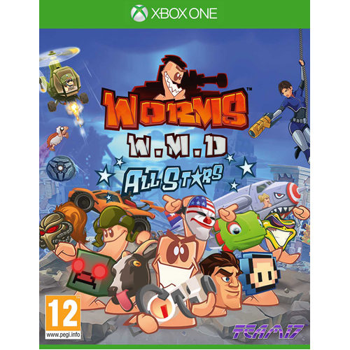 Worms Wmd All Stars - Xbox One