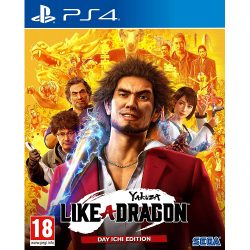 Yakuza: Like a Dragon Day Ichi Edition - PS4