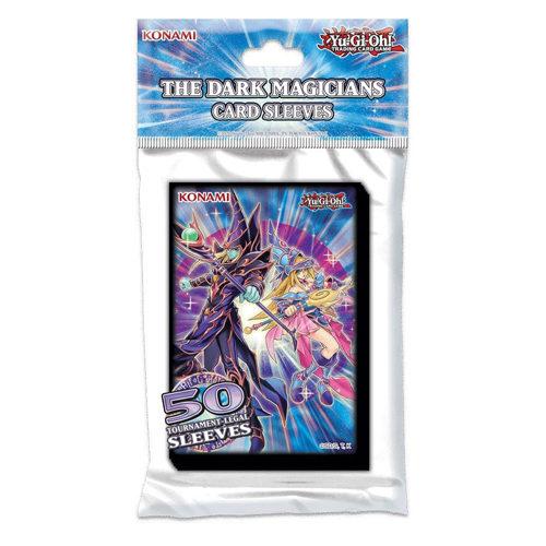 Yu-Gi-Oh TCG The Dark Magicians Sleeves