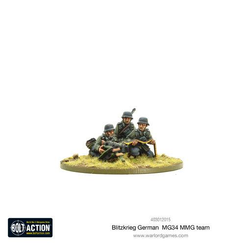 Blitzkrieg German Support Group (HQ, Mortar & MMG)