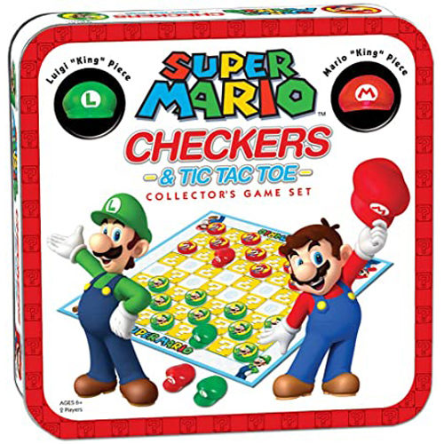 Checkers: Super Mario VS Bowser (INTL)