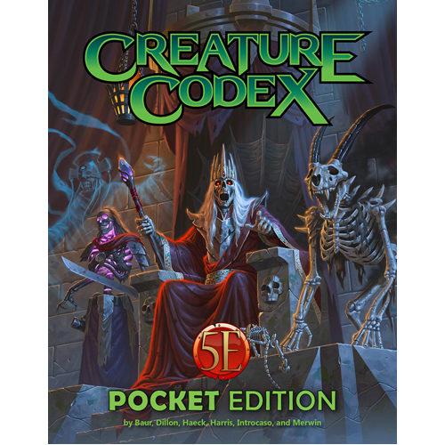 Creature Codex Pocket Edition: 5th Edition