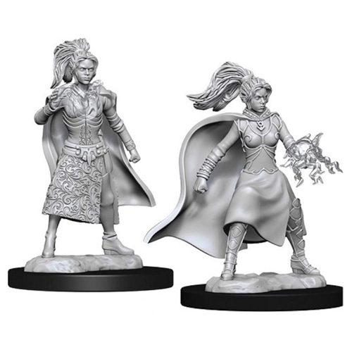 D&D Nolzur's Marvelous Unpainted Miniatures (W12) - Female Elf Sorcerer
