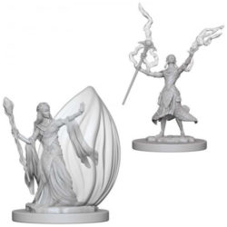 D&D Nolzur's Marvelous Unpainted Miniatures (W12) - Female Elf Wizard