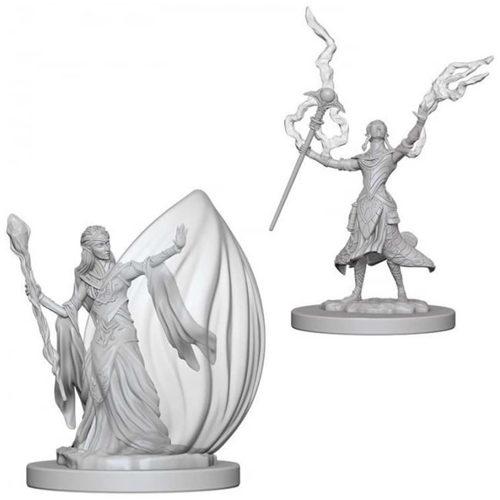 D&D Nolzur's Marvelous Unpainted Miniatures (W12) - Female Elf Wizard