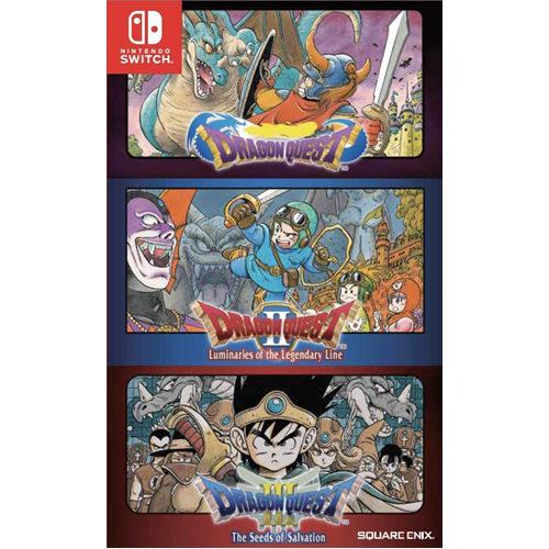 Dragon Quest 1, 2, 3 - Nintendo Switch
