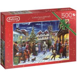 Falcon: Christmas Market Puzzle (500 Piece)