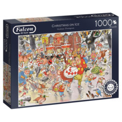 Falcon: Christmas on Ice Puzzle (1000 Piece)