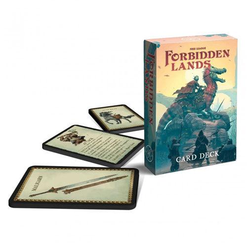 Forbidden Lands RPG - Card Deck