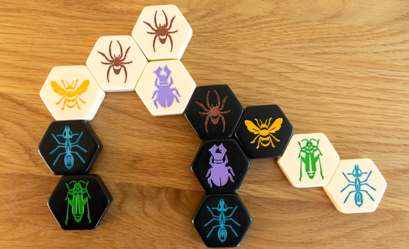 Four Games for People Who Love Chess Hive