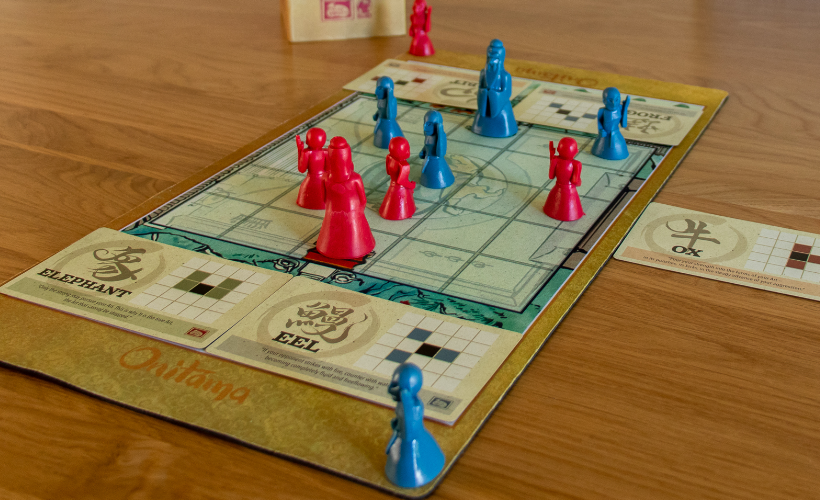 Four Games for People Who Love Chess Onitama