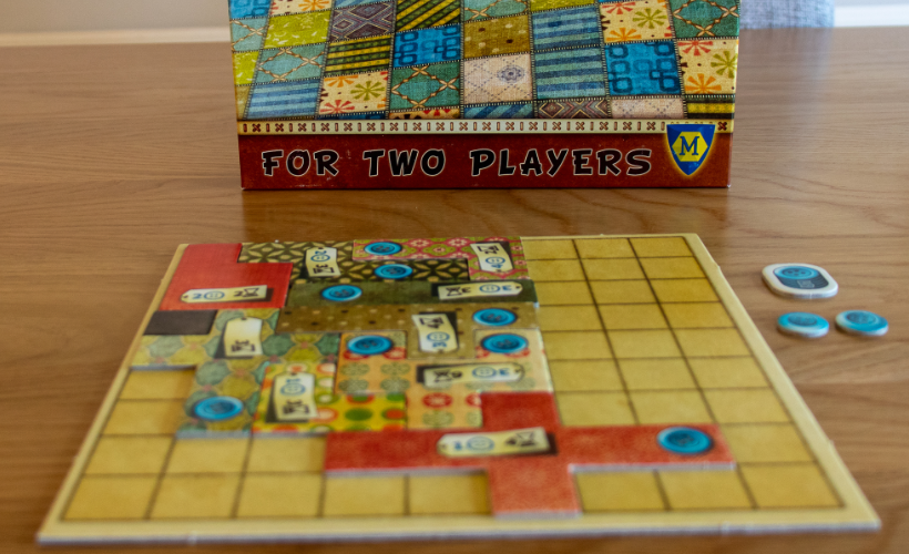Four Games for People Who Love Chess Patchwork
