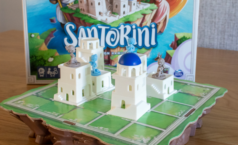 Four Games for People Who Love Chess Santorini
