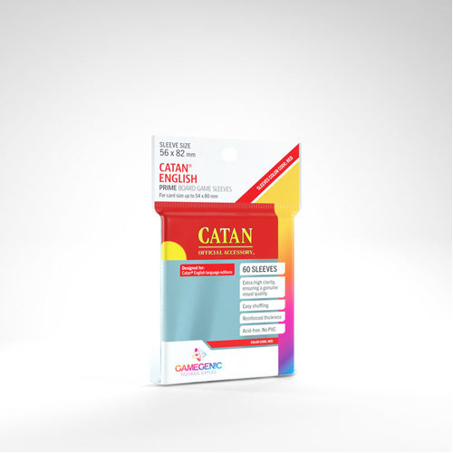 Gamegenic Prime Catan- Sized Sleeves 56 x 82 mm (50 ct.)