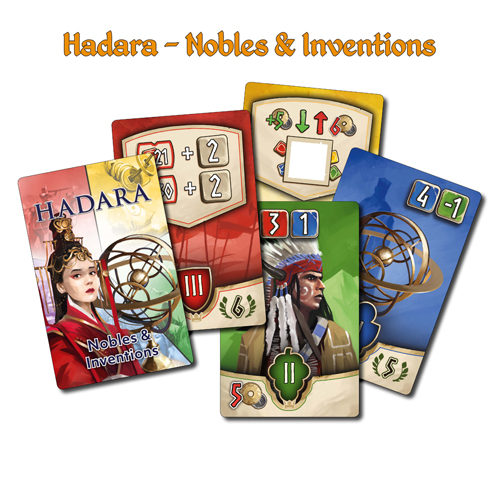 Hadara: Nobles & Inventions Mini Expansion
