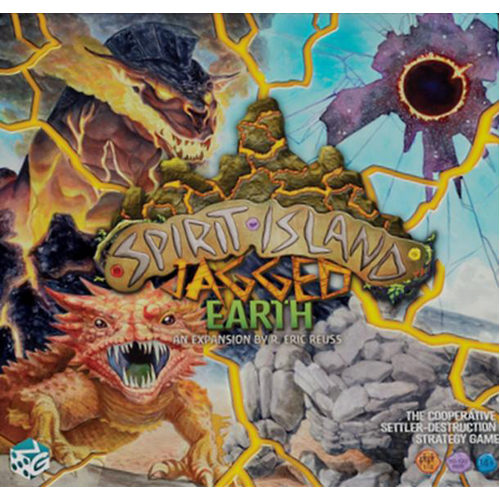 Jagged Earth: Spirit Island expansion