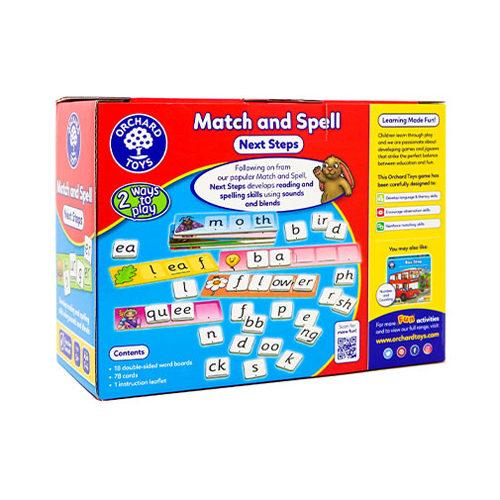 Match & Spel Next Steps