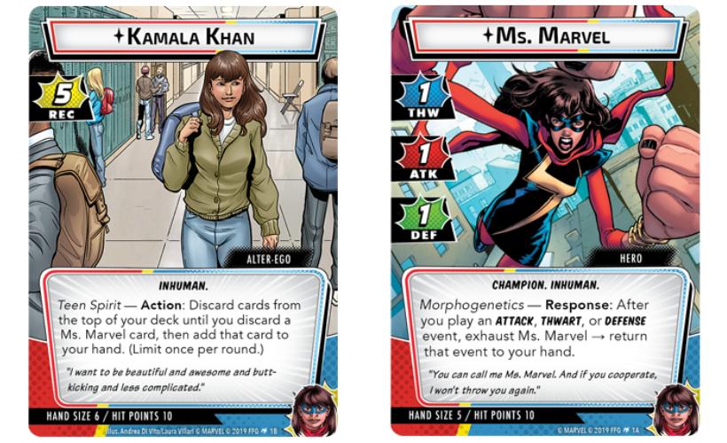 Ms. Marvel Hero Pack Body 1