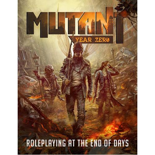 Mutant Year Zero RPG - Elysium Map Pack