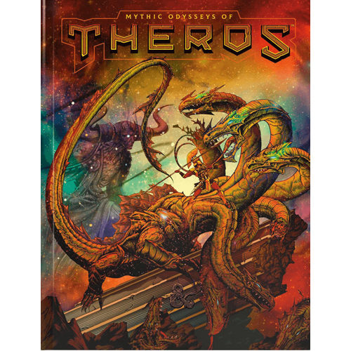 Mythic Odysseys of Theros (Alternate Cover): Dungeons & Dragons (DDN)