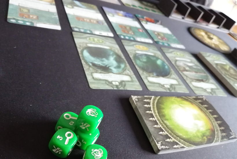 Omens of the deep dice