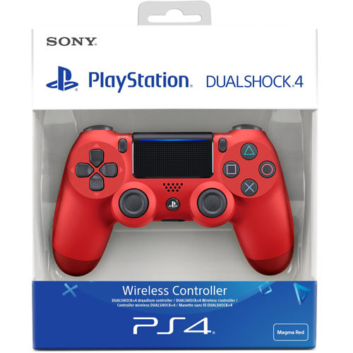 PlayStation DualShock 4 Controller Magma Red