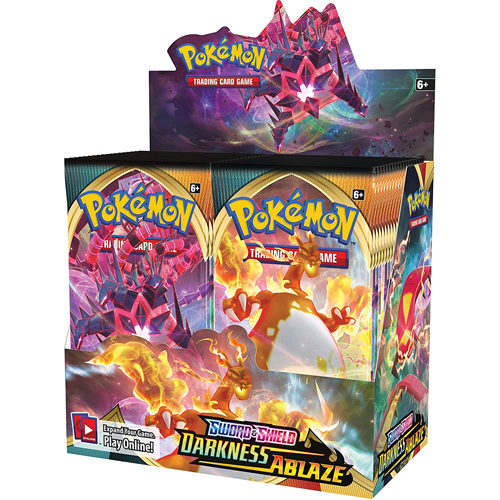 Pokemon TCG: Sword & Shield 3 Darkness Ablaze Booster Box