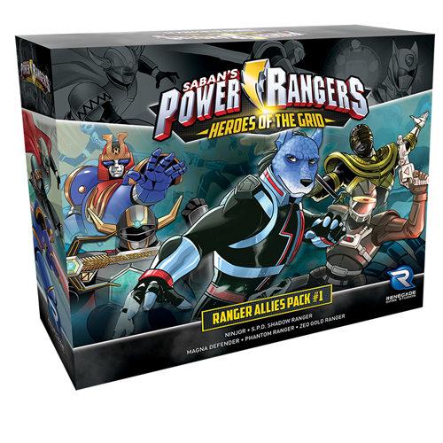 Power Rangers: Heroes of the Grid: Ranger Allies Pack