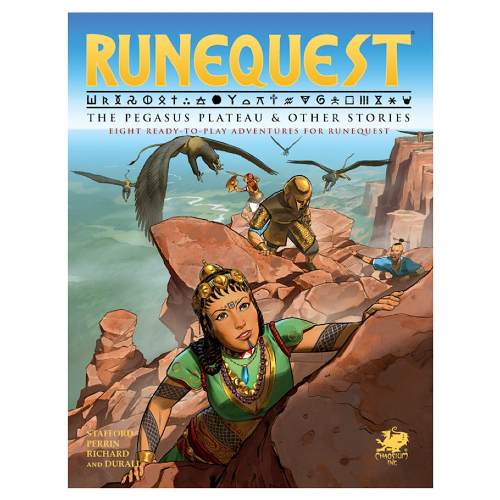RuneQuest The Pegasus Plateau & Other Stories