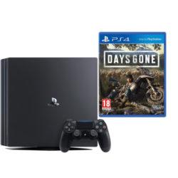 Sony PS4 - 1TB Black Console - Days Gone Bundle